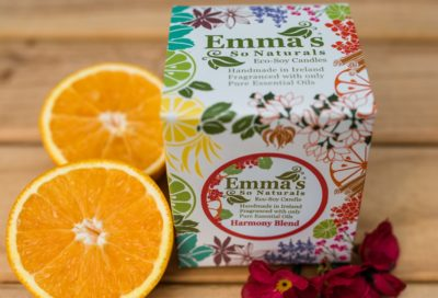 Eco Sustainable Candle Emma's So Natural Harmony Blend