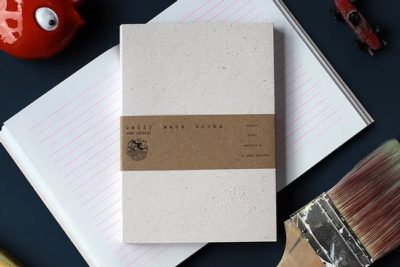 Nude Lined Notebook