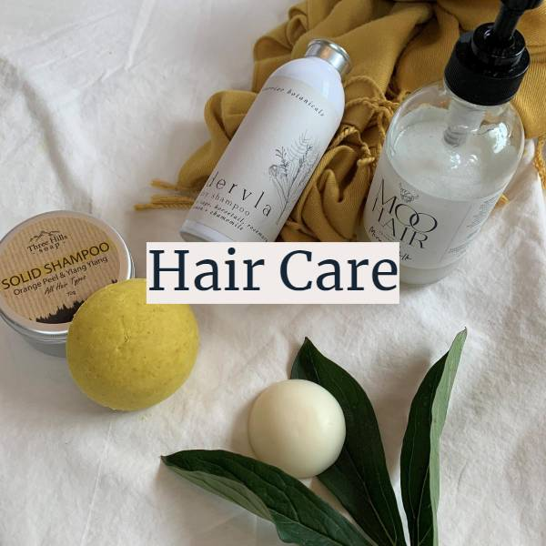 Plastic free hair products