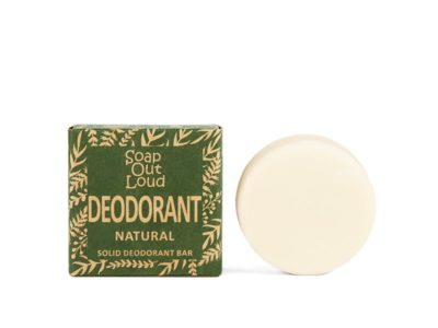 Irish Made Natural Deodorant Lemon and Lime Soap Out Loud